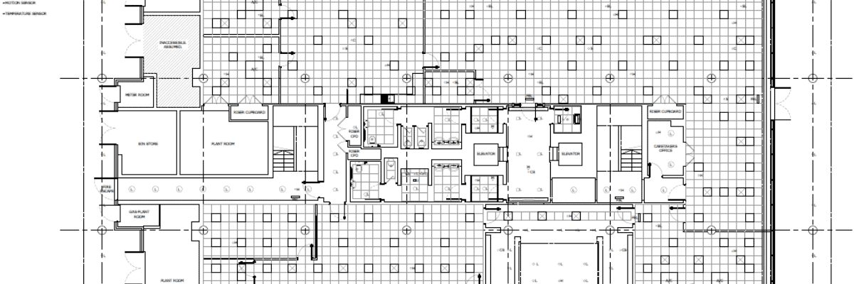 measured survey drawing