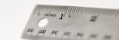 Imperial and Metric Ruler to Convert Feet to Inches