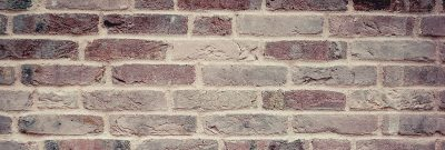 Brick wall photograph for calculating brick height