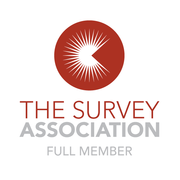 logo of The Survey Association with 'full member' notation