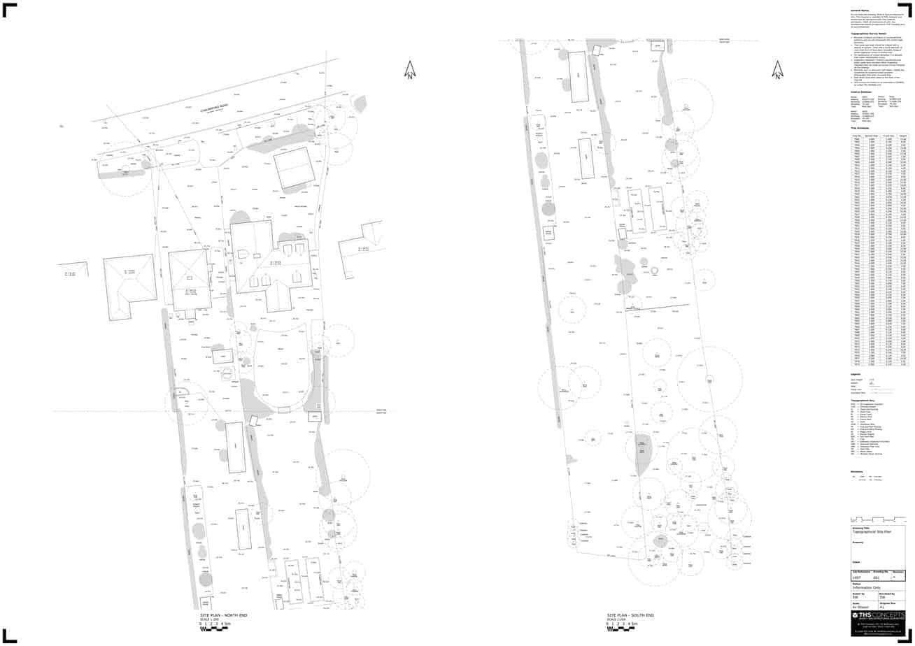 Topographical Survey Example Drawing