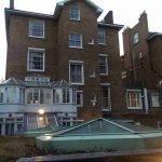 Holland Villa Park house rear elevation