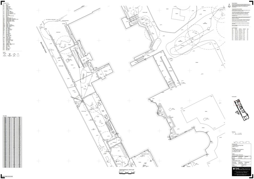 Liverpool High School Topographical Survey