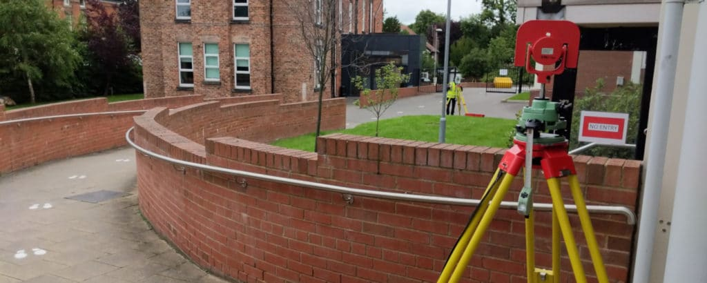 Topographical Survey At High School In Liverpool