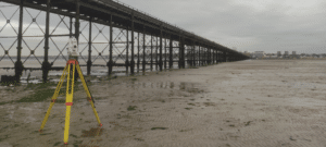 Southend Pier Monitoring Survey With A Total Station